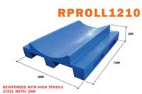 Pallet nhựa chứa cuộn