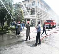Tập luyện phòng cháy chữa cháy