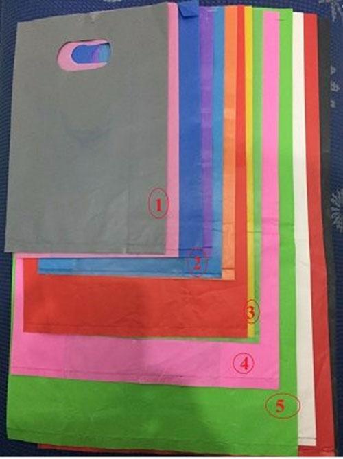 Túi PE màu