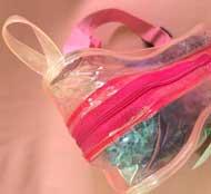 Túi PVC khóa kéo