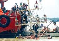Trục vớt thanh hải luồng thạch