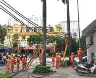 Hệ thống điện khu đô thị