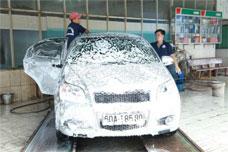 Rửa ô tô