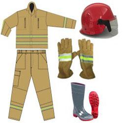 Quần áo giày chữa cháy