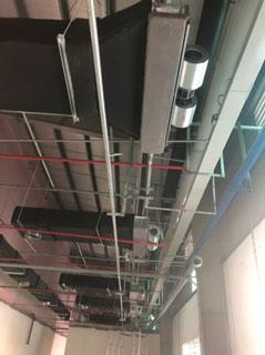 Hệ thống điện nước thông gió