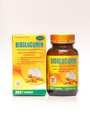 Viên Nấm Nghệ Bioglucumin