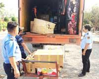 Bảo vệ áp tải hàng hóa