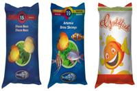 Bao thức ăn nuôi cá (bao bì giấy in offset)