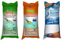 Bao thức ăn nuôi tôm (bao bì giấy in offset)