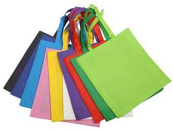 Túi vải may viền