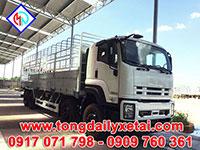 Xe tải Isuzu 4 chân