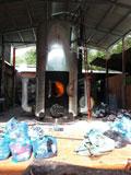 Lò hơi đốt bằng rác vải vụn