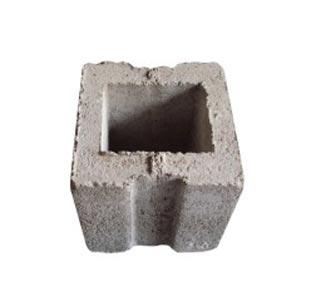 Gạch block 1 lỗ vuông