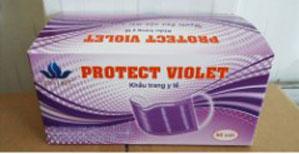 Khẩu trang protect-violet