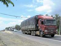 Vận chuyển hàng hoá đường bộ