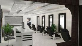 Thiết kế thi công nội thất salon