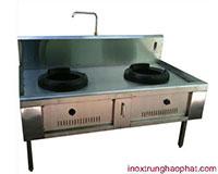 Bếp Á 2 họng đốt