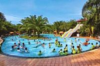 Xây dựng bể bơi khu du lịch