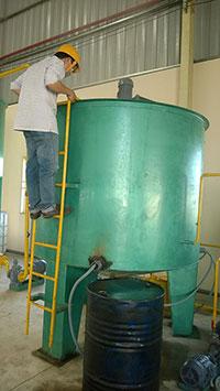 Hệ thống tái sinh dầu nhớt