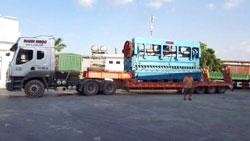 Xe vận chuyển công trình