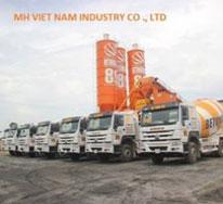 Trạm trộn bê tông MH Việt Nam