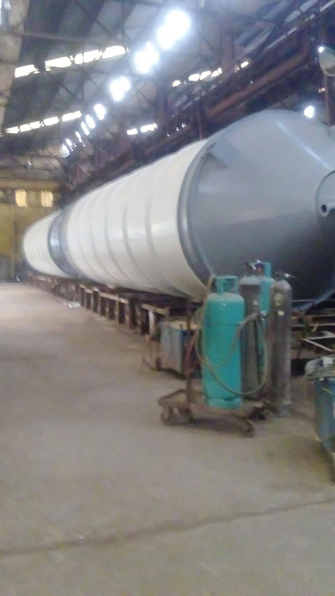 Gia công silo xi măng 40-200 tấn