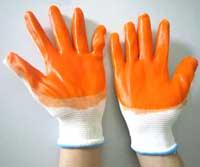 Găng tay dệt kim phủ PU
