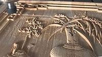 Cắt khắc CNC trên gỗ