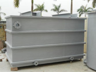 Bồn Composite khối hộp