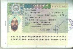 Visa du lịch ý