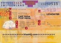 Visa du lịch Thụy Sỹ