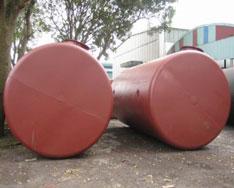 Bể téc chứa xăng dầu