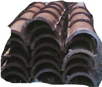 Coffa cột tròn