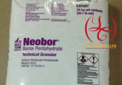Na2B4O7.5H2O Borax