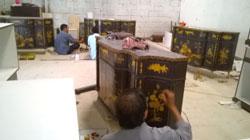 Dịch vụ vẽ tranh trên gỗ
