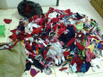 Phế liệu vải