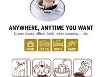 Cà phê Phin Giấy Hộp 15 gói 12gr