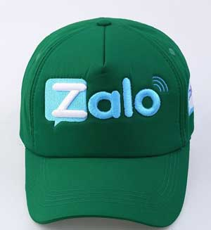 Thêu logo trên mũ
