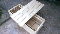 Thùng gỗ kín