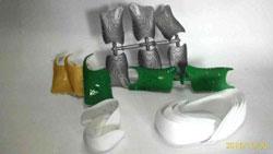 Gia công phụ kiện nhựa ngành giày dép