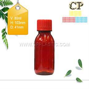 Chai 80ml pet