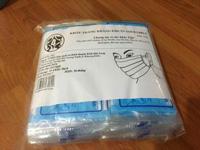 Khẩu trang kháng khuẩn xanh 4 lớp