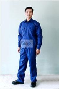 Quần áo bảo hộ Kaki liên doanh