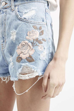 Thêu quần jean