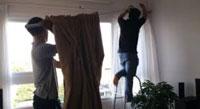 Dịch vụ giặt thảm nệm rèm màn