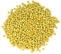 Hạt nhựa HDPE tái sinh màu vàng