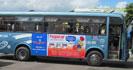 Quảng cáo trên xe Bus