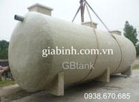 Bể FRP xử lý nước thải