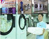 Hệ thống giặt-sấy-ủi khách sạn