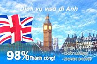Dịch vụ làm visa Anh